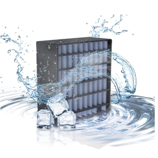 bluax portable ac product water filter