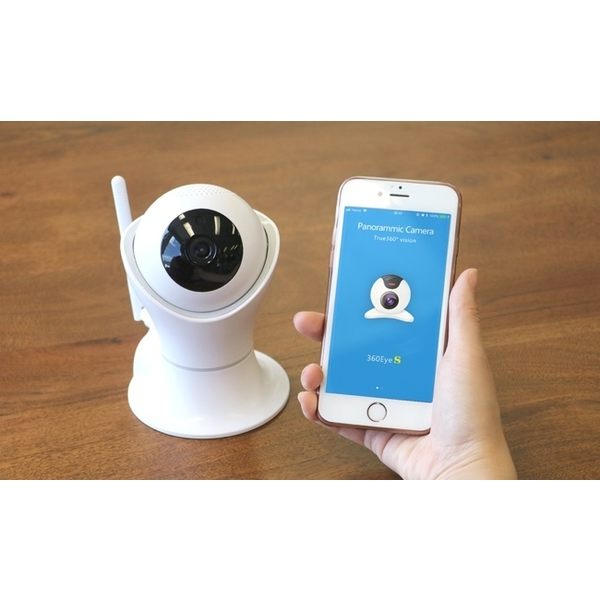 family guard pro product connected with smartphone