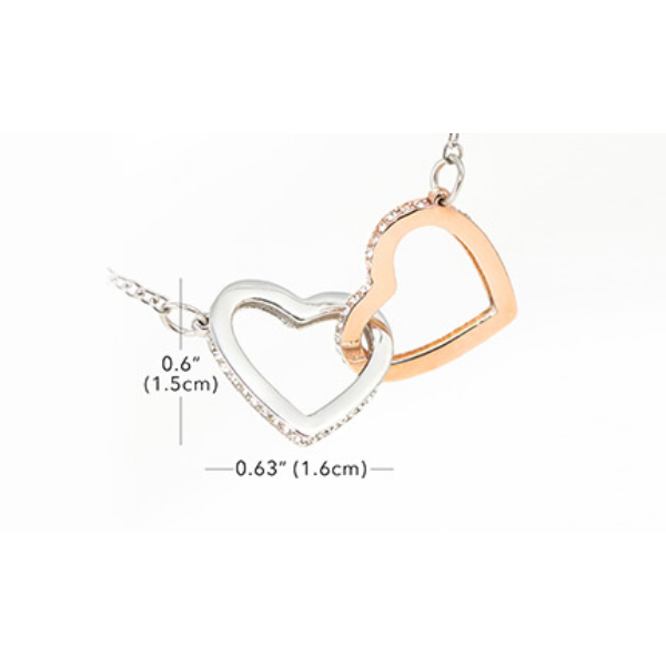 Janssen Interlocking Hearts Necklace product page