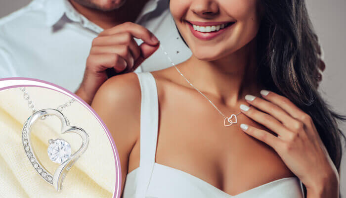 janssen forever love necklace page