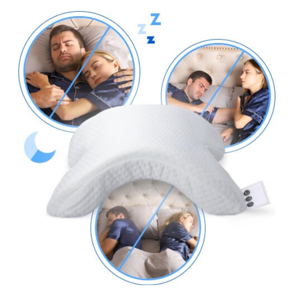 neck relax couple pillow product page