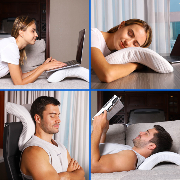 neck relax couple pilow benefits