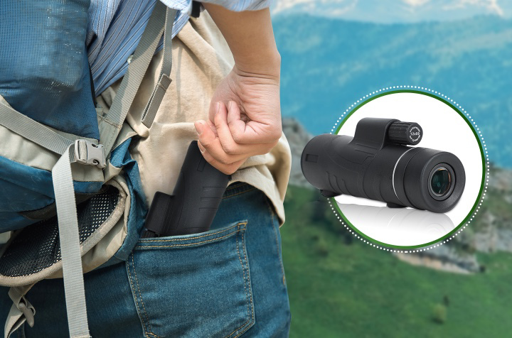 Starscope Monocular Telescope With Smartphone Holder & Tripod 9
