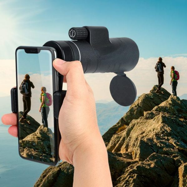 Starscope Monocular Telescope With Smartphone Holder & Tripod 1